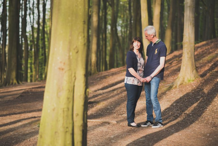 Linacre Reservoir Engagement Photo Shoot
