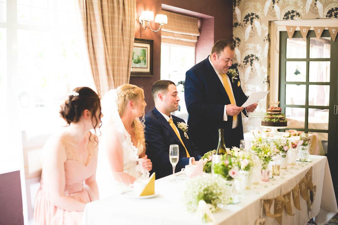 Travellers Rest Brookhouse Wedding