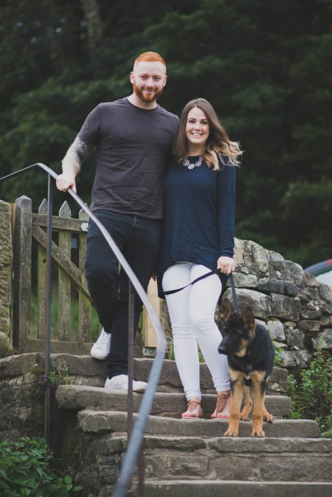 padley gorge engagement session