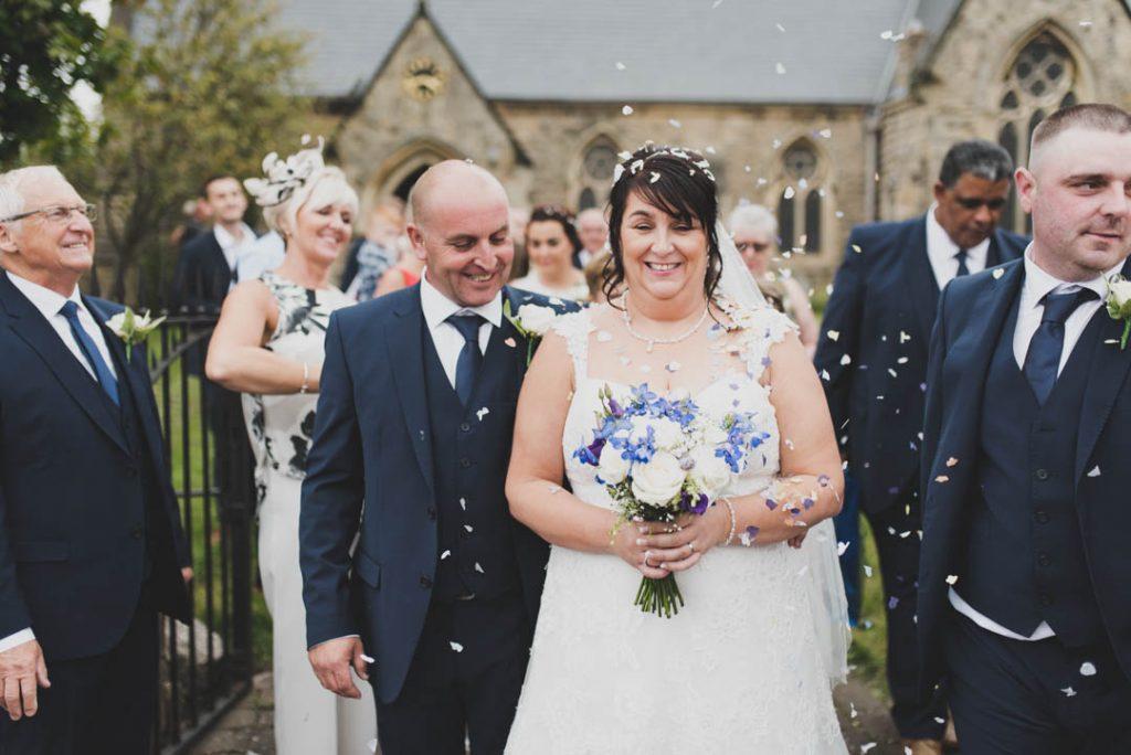 st leonards dinnington wedding