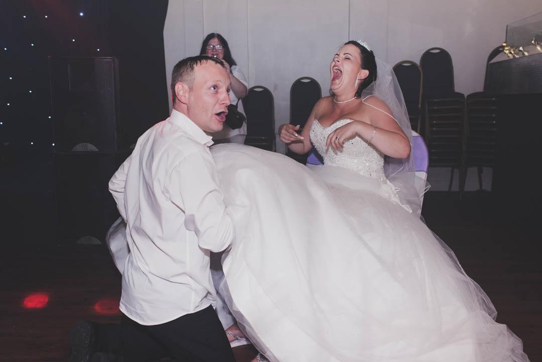 Club Baize Wedding