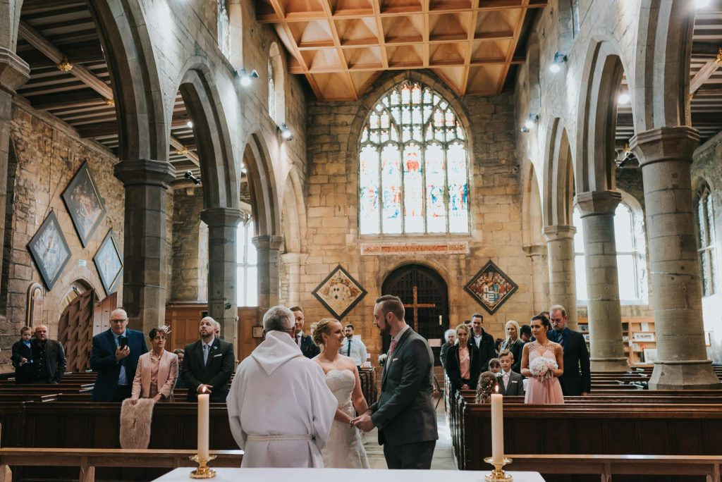 St Mary's Church Ecclesfield vow renewal
