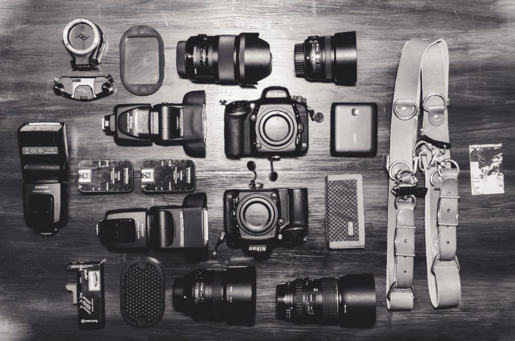 wedding photography gear 2017