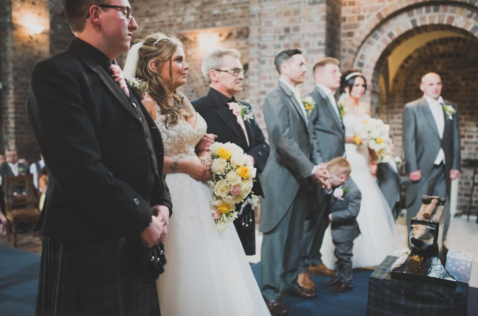 Anvil Hall and Greens at Gretna double wedding