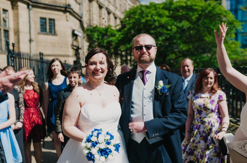 Sheffield Town Hall & Worksop Golf Club Wedding