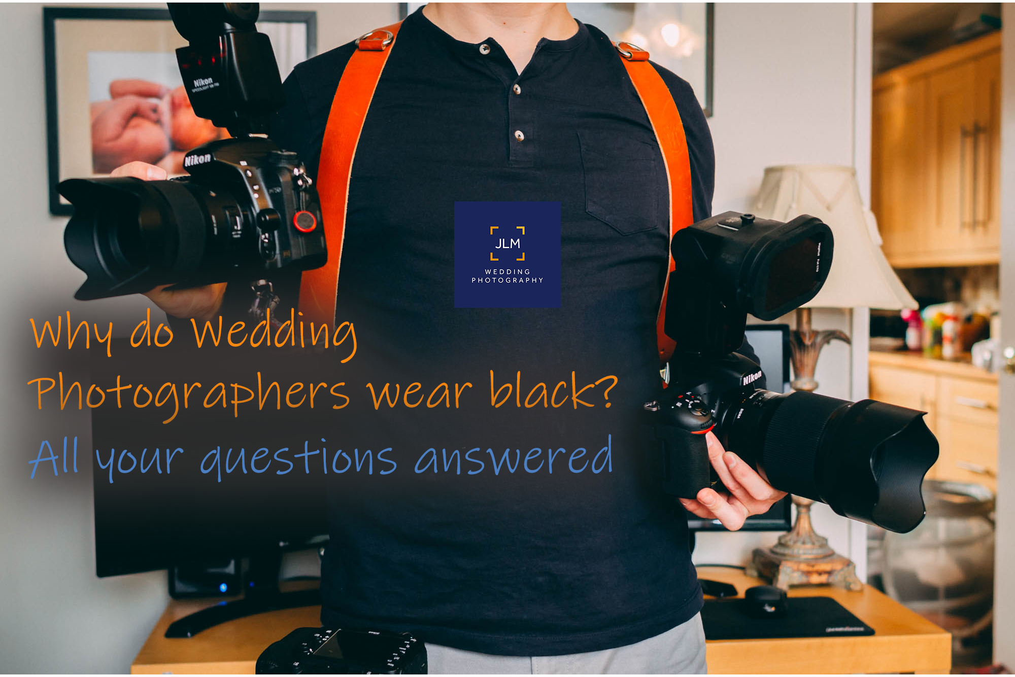 Why do Wedding Photographers Wear Black? :: Your Questions Answered