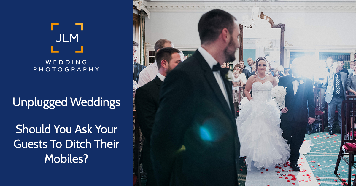 Unplugged Weddings :: Should you ask your guests to ditch the mobiles?