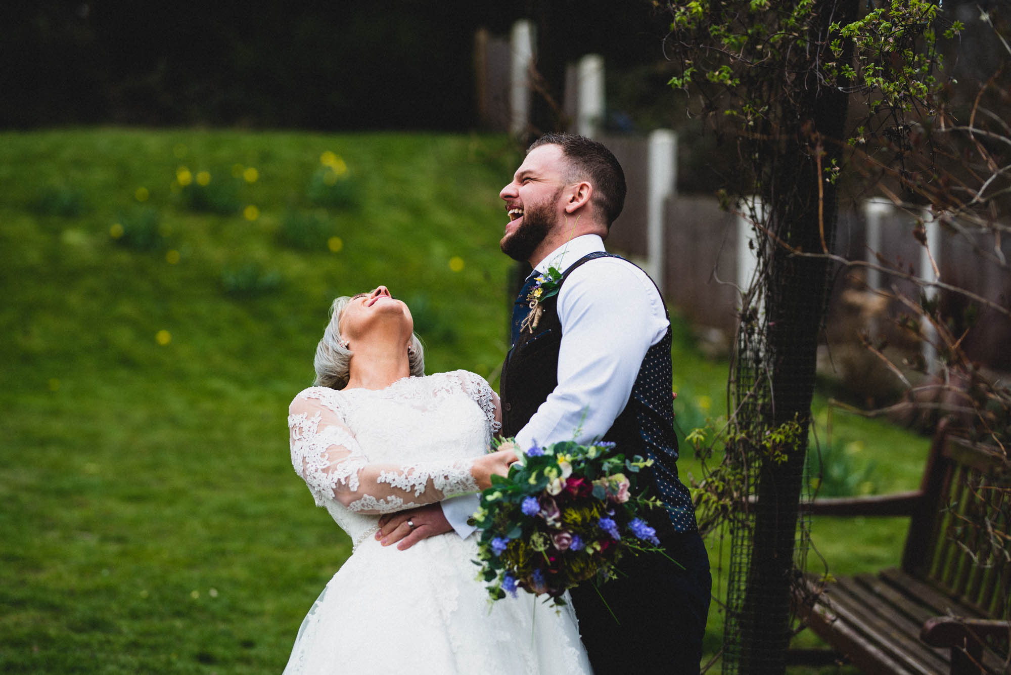 Charlotte & Lee's Bright and Colourful Spring Wedding in Sheffield