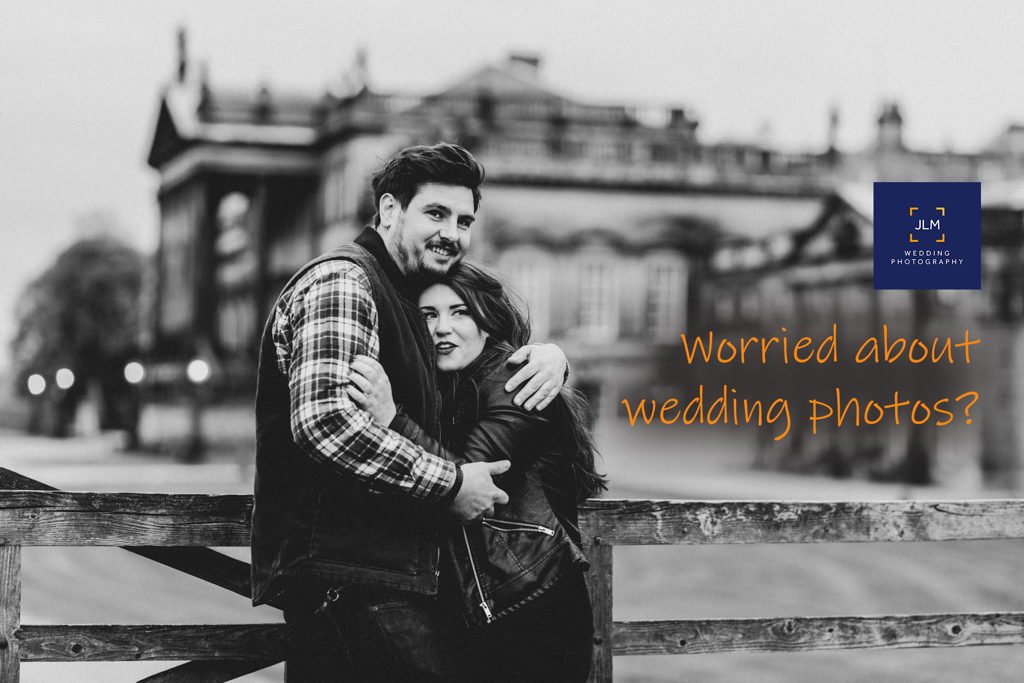 Anxious About Having Wedding Photos Taken? You're Not The Only One