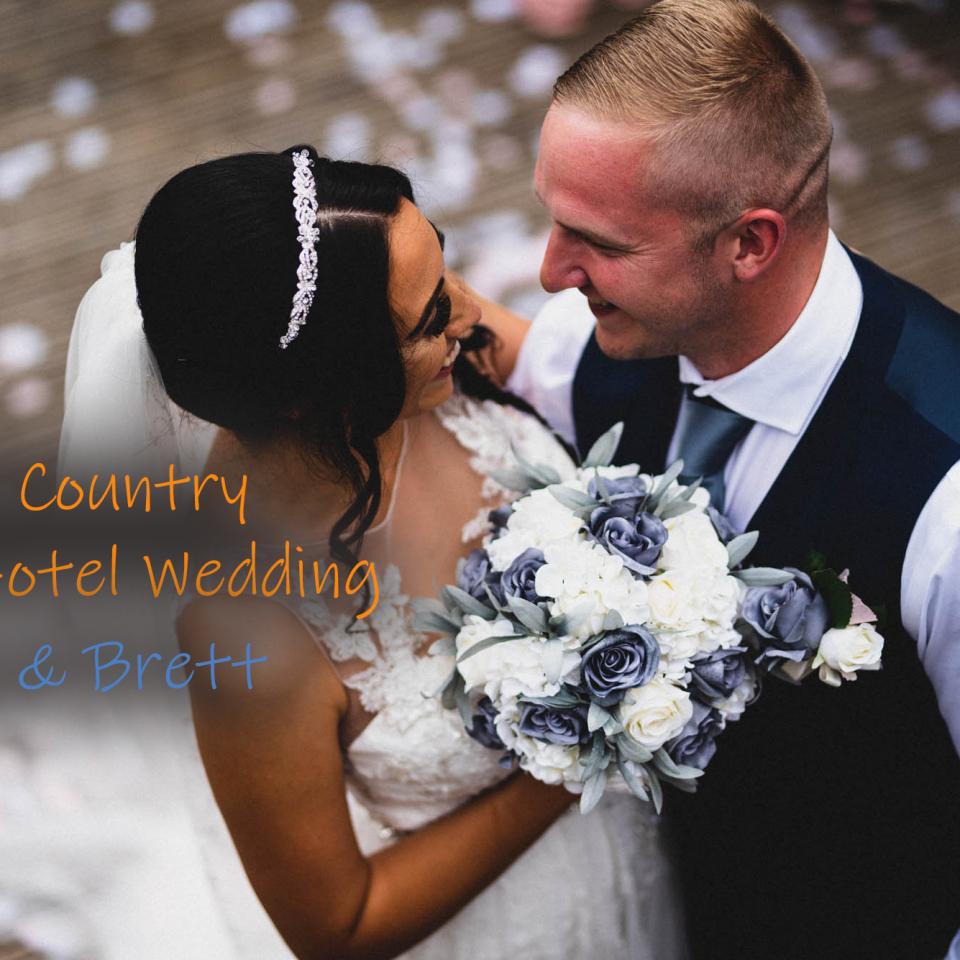 Chevin Country Park Hotel Wedding :: Megan & Brett