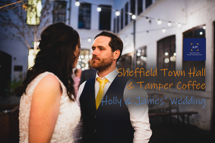 Sheffield Town Hall Mirror Room & Tamper Coffee Wedding