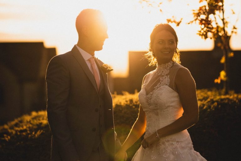 Chasing the Sunset at Tankersley Manor :: Rochelle & Paul's Wedding