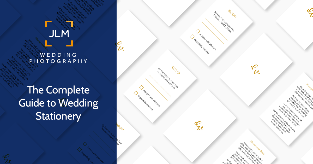 Your Wedding Needs An Identity :: The Complete Guide to Wedding Stationery