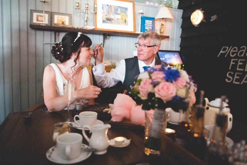 George's Kitchen Wedding