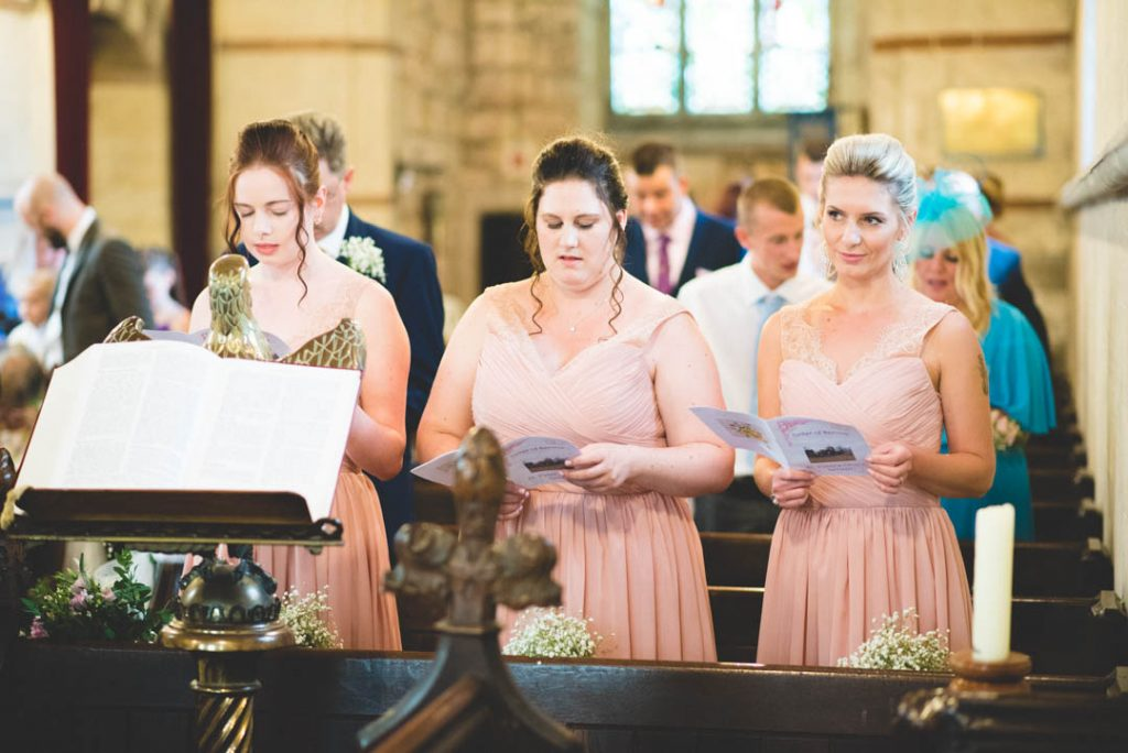 St Peters Church Letwell Wedding