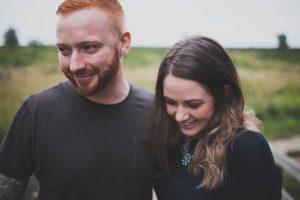 padley gorge engagement shoot